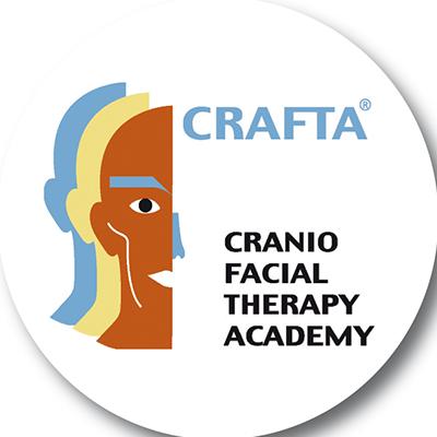 Icon mit einem Skizzierten Kopf welches die Kopf- und Kiefergelenktherapie symbolisieren soll.