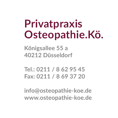 Adresse Privatpraxis Osteopathie.Kö.